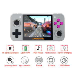 Image 3 - Nieuwste Rg 350 Retro Handheld Video Game Console Portatil Mini Game Console Retro 64bit Opendingux 3.5Inch Ips Scherm 2500 + Games