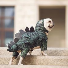 best selling 2020 products Dog Dinosaur Clothes Pet Funny Small Dog Transformed Funny Clothes home decoration accessories(China)
