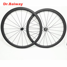 цена на 700c road carbon wheelset  38*23mm Clincher road bike wheels Powerway R13 100*9 130*9mm  V Brake  racing biycle 700c wheelset