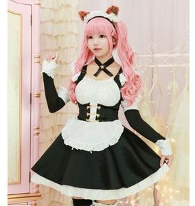 Image 5 - Fate tomamo não mae trajes cosplay lolita vestido de empregada doméstica para meninas mulher empregada doméstica festa trajes palco