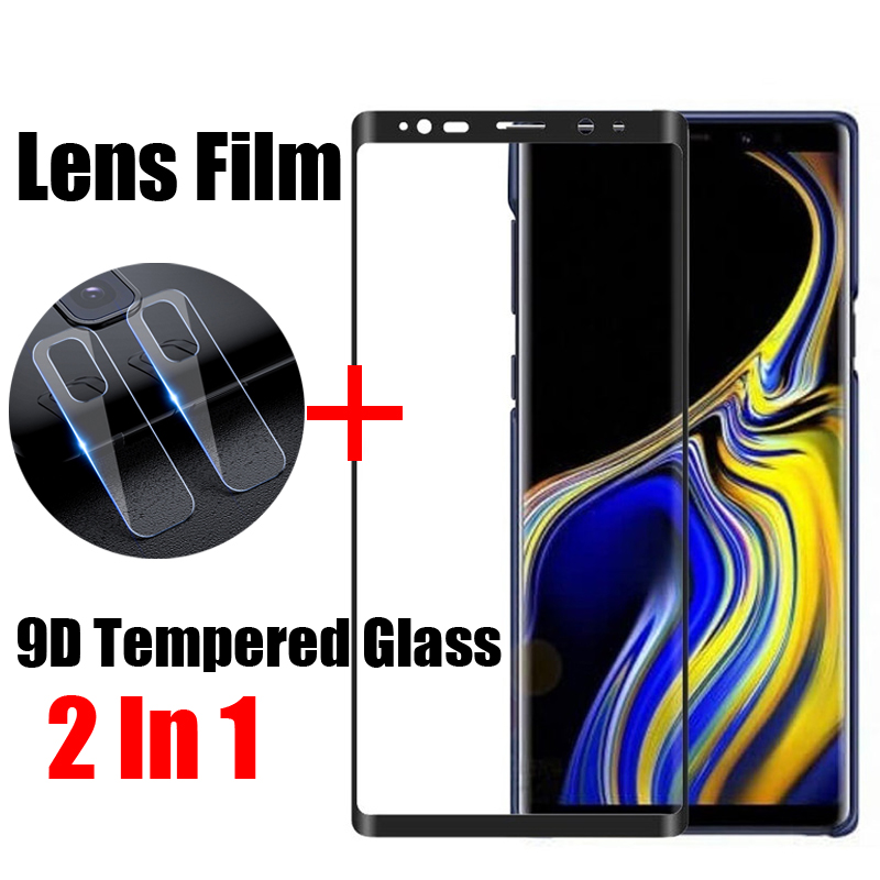 Protective Glass For Samsung Galaxy Note 8 9 Tempered Glass Screen Protector For Samsung Galaxy S10 S9 S8 Plus 10e Lens Film in Phone Screen Protectors from Cellphones Telecommunications