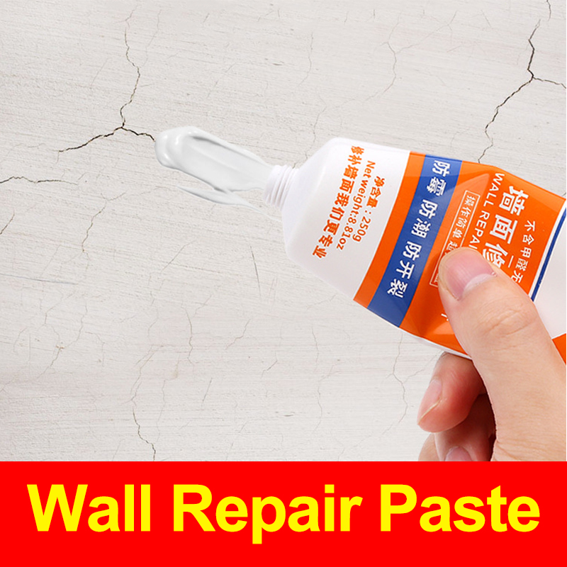 Interior Wall Repair Paste Anti Mildew Crack Nail Hole Repair Putty One White Repair Paste Household Waterproof And Easy To Use