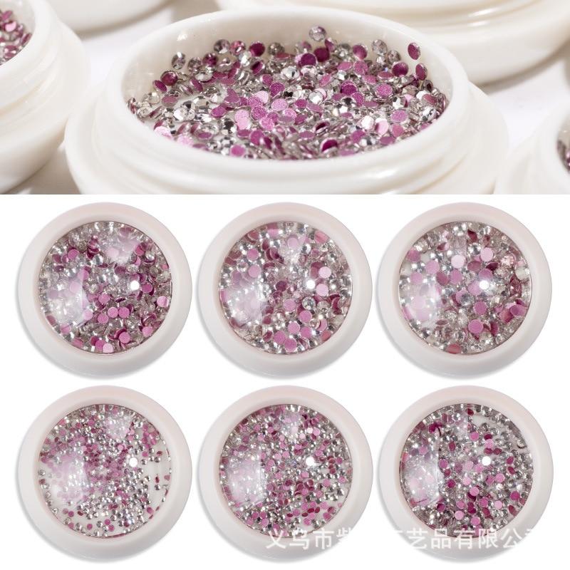 Refers To Princess Nail Sticker Nail Ornament Sequin Manicure Diamond Manicure Supplies Man-made Diamond Cat's Eye Bottled