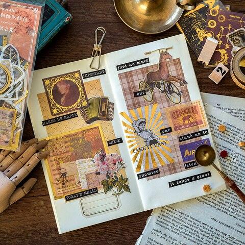 renaissance ouro diario planejador decorativo movel adesivos
