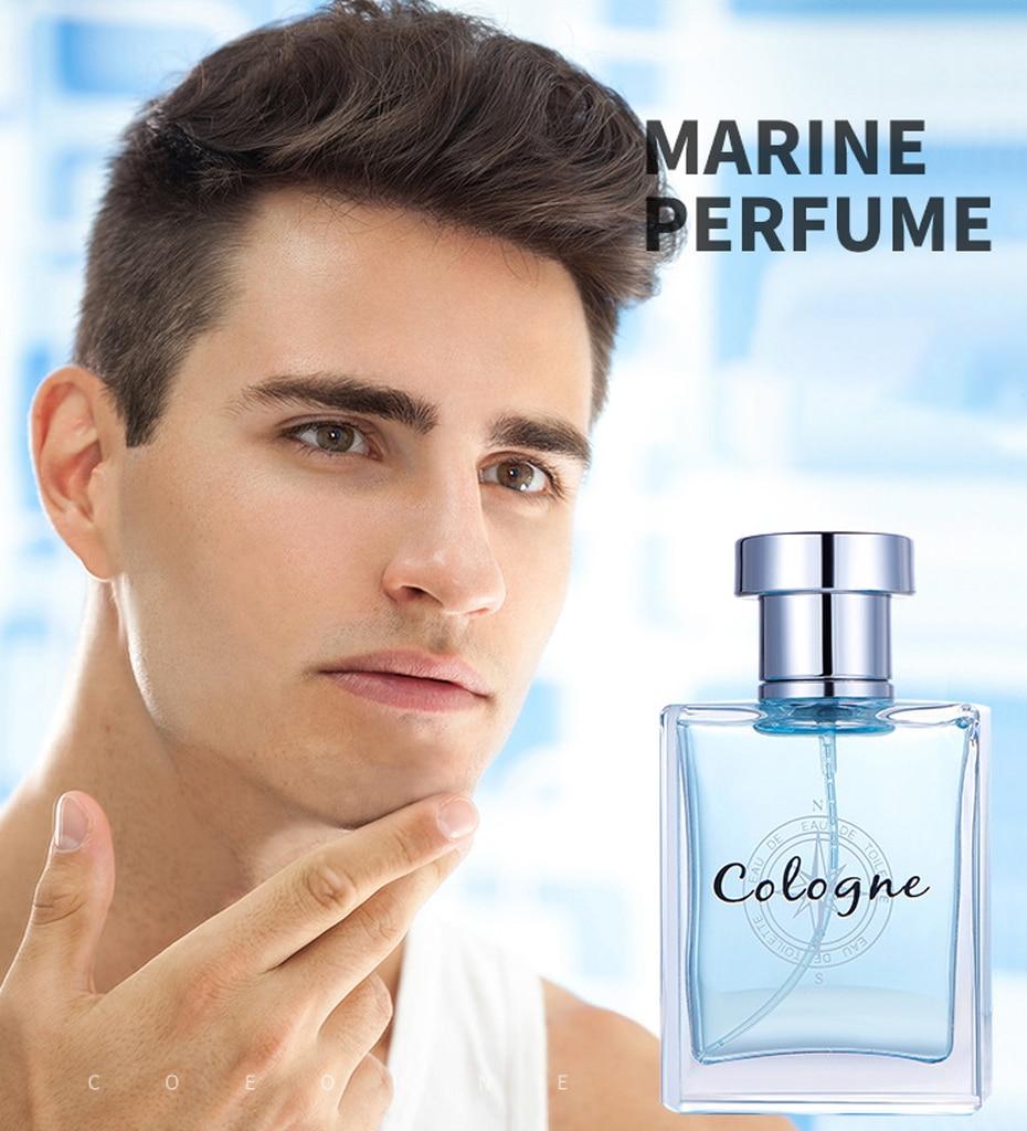50ml Men Perfume Long Lasting Fragrance Fashion Ocean Fragrances Men Body Spray Glass Bottle Perfu Fragrance Deodorant