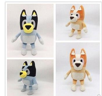 2020 New arrival Bluey miękkie pluszowe zabawki Bingo uroczy pies wypchane zwierzę lalki na prezent urodzinowy dla dzieci