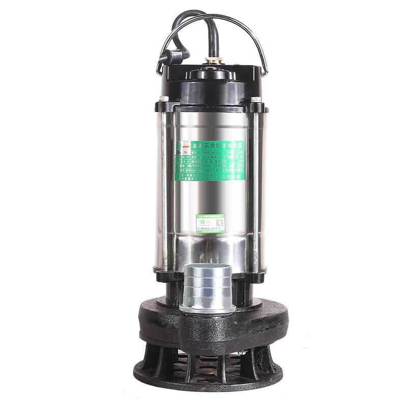 220V Underwater Pump Domestic Self Ignition Elevation Pump Agricultural Sewage Pump Drainage And Irrigation Pump Sewage Pump