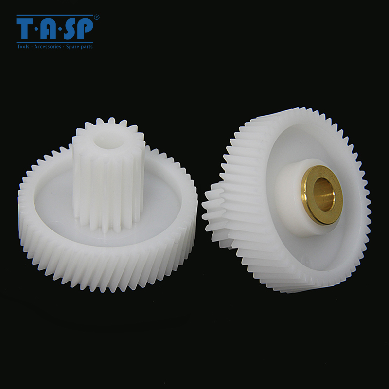 2pcs Gears Spare Parts For Meat Grinder Plastic Mincer Wheel MYW-10 For POLARIS VITEK Supra Panasonic Scarlett Liberton Maxwell