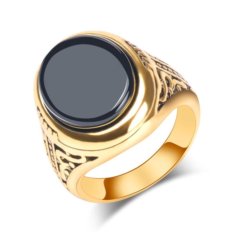 Wbmda-Vintage-Black-Stone-Ring-For-Women-Man-Fashion-Antique-Gold-Big-Ring-Jewelry-Valentine-s
