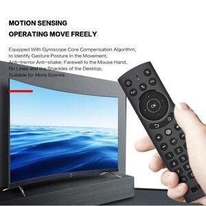 Image 5 - G20S PRO 2.4G kablosuz akıllı ses arkadan aydınlatmalı hava fare jiroskop IR öğrenme Google asistan uzaktan kumanda Android TV kutusu