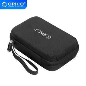 Image 1 - Защитный чехол ORICO для внешнего аккумулятора HDD SSD, встроенный внутренний сетчатый слой для кабеля USB, аксессуары для наушников