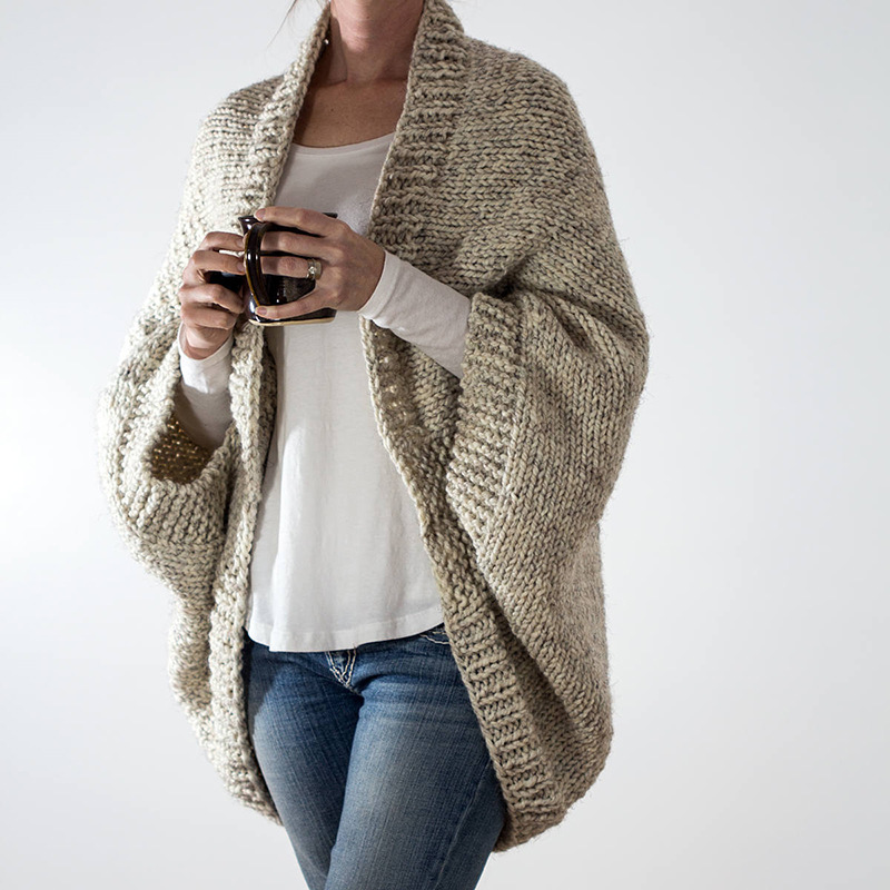 Bat Sleeve Sweater Women Spring Autumn Clothes Knit Cardigan Solid Color Outfit Long Sleeve Feminino Streetwear Casual Outerwear