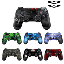 Cool Fashion 1pcs Controller Skin for PS4 Controller Decal Stickers for Playstation4 Controller For ps4 console playstation 4