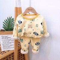 Тёплая пижама с принтом мишек #2