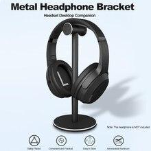 Support d'écouteurs en alliage d'aluminium Durable, métal ABS, support Stable et détachable, coussin en Silicone pour casques sans fil filaires