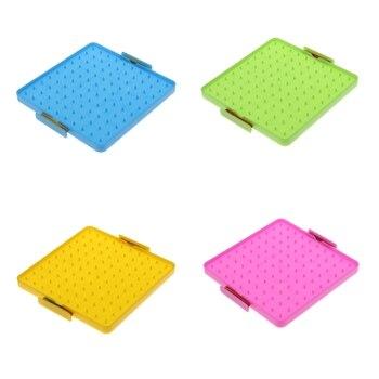 Montessori Geoboard tablica matematyczna z opaski gumowe dla dzieci graficzne zabawki edukacyjne wczesny rozwój zabawki