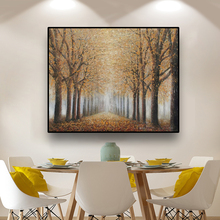 Abstract Oil Painting Forest Landscape Canvas Painting Modern Home Decoration Wall Art Posters And Prints Home Decor Picture laeacco nordic oil painting abstract forest landscape canvas posters and prints wall art canvas painting modern room decoration