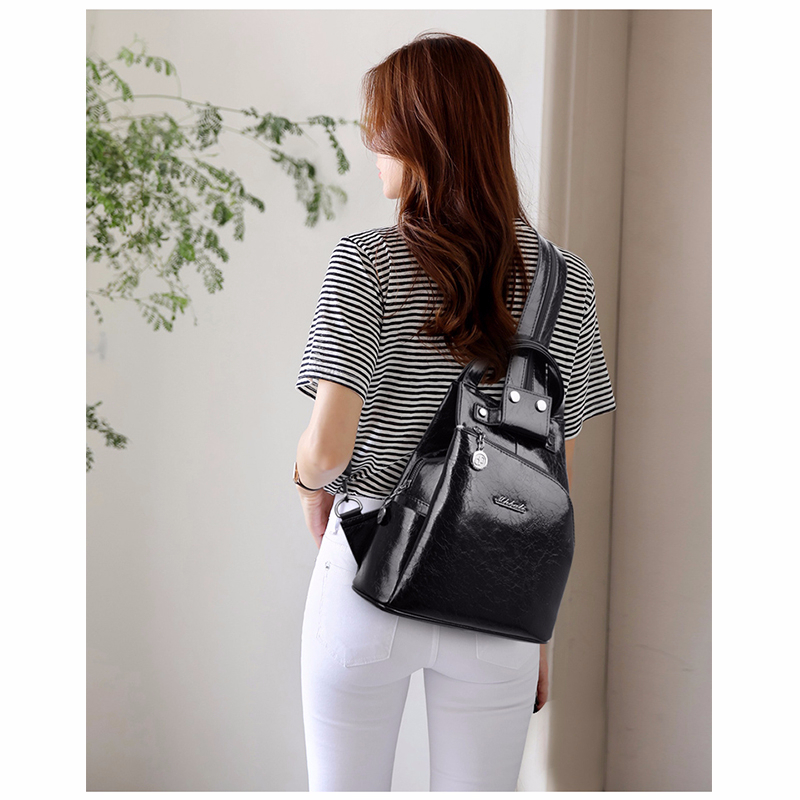 Ha605cd9085b74370b48374f69d13d84bU - Women Leather Backpacks High Quality Sac A Dos Anti-theft Backpack For Girls Preppy School Bags For Girls Casual Daypack