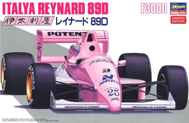 1/24 Assembled F1 Model Italywood Reynard 89D 20389