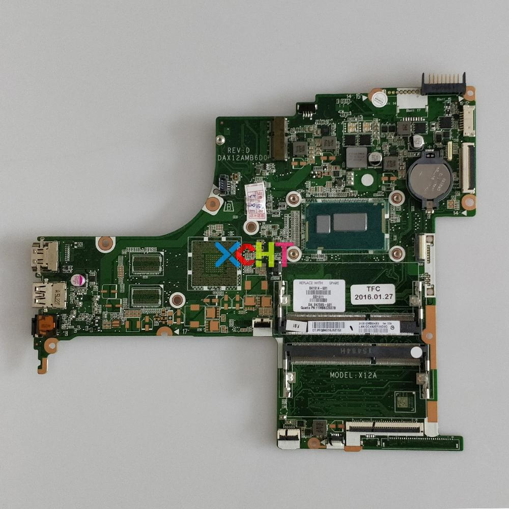 841914 601 UMA w i5 4210U CPU DAX12AMB6D0 for HP PAVILION NOTEBOOK 15 AB268CA PC Laptop Motherboard Mainboard Tested-in Laptop Motherboard from Computer & Office
