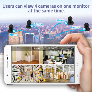 Image 5 - KERUI 무선 실내 카메라 720P 풀 HD 클라우드 스토리지 홈 보안 감시 카메라 모션 감지 야간 투시경
