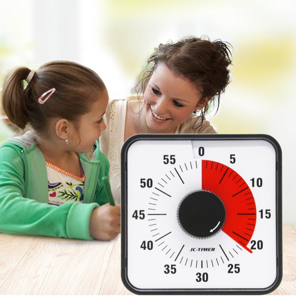 Visual Timer 60 Minute Timing Set Back Leg Stands Countdown Clock Kitchen Baking Timer For Classroom or Conference-in Kitchen Timers from Home & Garden