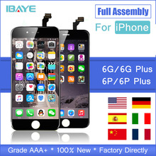 Full Set 3D Touch Grade AAA+++ For iPhone 6S Plus 6 S Plus LCD Screen Diaplay LCD Touch 100% No Dead Pixel For iPhone 6G 6S Plus