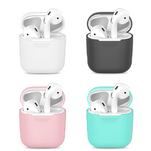 TPU Silicone Bluetooth Tai Nghe Không Dây Dành Cho Tai Nghe Airpods Bảo Vệ Da Phụ Kiện Cho Apple Không Vỏ Sạc Hộp