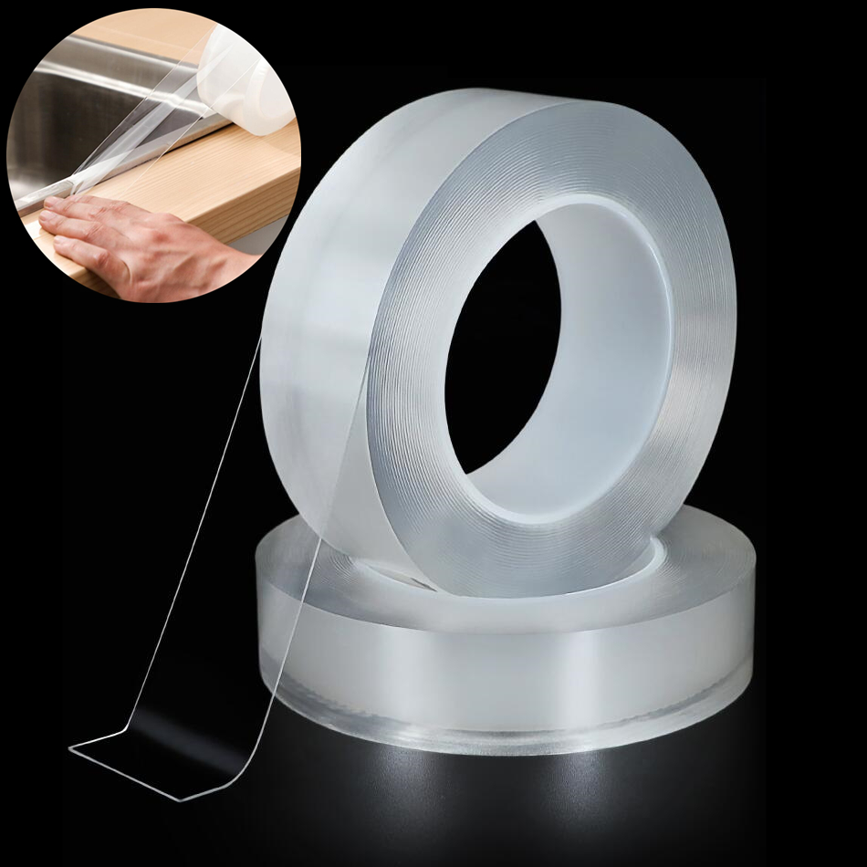 Kitchen Sink Waterproof Mildew Strong adhesive tape Bathroom Toilet Crevice Strip Transparent Self-adhesive Pool Water Seal