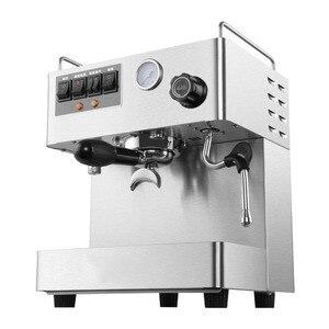 Image 3 - Полностью автоматическая кофемашина для эспрессо, 3000 Вт, 15 бар, Паровая кофеварка для итальянского кофе с давлением, кофемашина