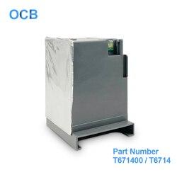 C13T671400 T671400 T6714 konserwacji zbiornik z atramentem pojemnik na zużyty tusz do Epson WorkForce Pro WF C8690 WF C869R WF C8610 WF C8190 C8190DW w Części drukarki od Komputer i biuro na