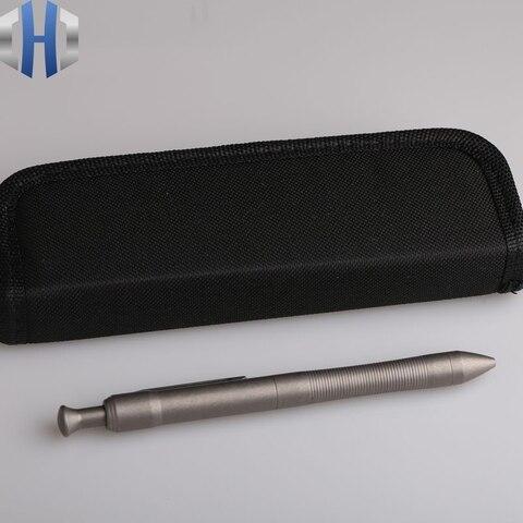 alta qualidade titanio tc4 tatico caneta