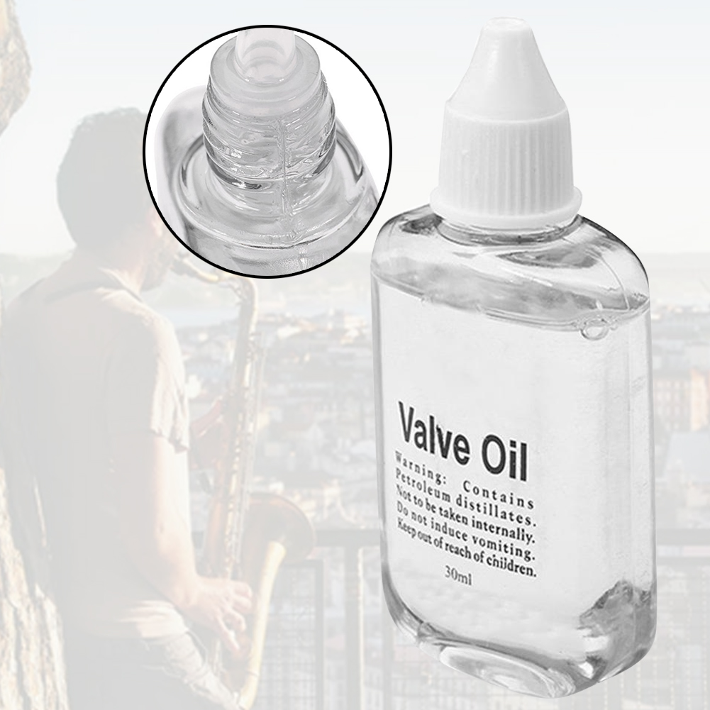 30ml Saxophone Clarinet Cleaning Lubricating Oil Professional Trumpet Smooth Brass Instruments Flute Practical Switch Parts