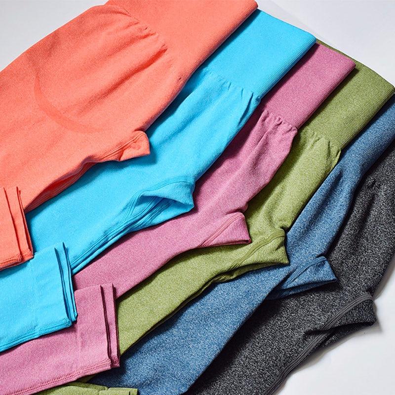 Seamless Leggings Sport Women Fitness Push Up Yoga Pants High Waist Squat Proof Workout Running Sportswear Gym Tights NCLAGEN 4