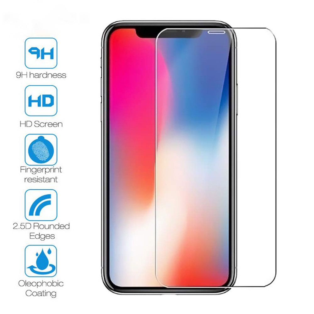 Protective Glass On Iphone 7 8 6s Plus X XS 11 Pro Max XR Screen Protector Protection Tempered Glass For Iphone 11 Pro Max Glass