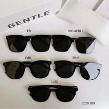 5 Style 2020 Korea Brand Design GENTLE sunglasses Women Men Acetate Polarized