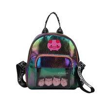 цены Cute Pig Printed Women Backpacks Cartoon Animal Schoolbag Fashion Pu Leather Small Bookbag for Student Girl Travel Backpack 2019
