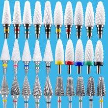 เครื่องตัดเล็บเซรามิกเล็บเจาะBits Manicureเครื่องโรตารี่ไฟฟ้าเล็บไฟล์เล็บเครื่องมือFeecy