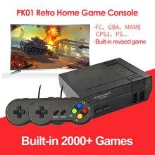 Retro Mini konsola do gier TV wbudowana 2000 gier wideo wyjście kompatybilne z HDMI klasyczny odtwarzacz do gier