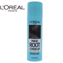 LOreal Paris Magic Root Cover Up Temporary Gray Concealer Spray - Dark Brown by for Women - 2 oz Hair Color