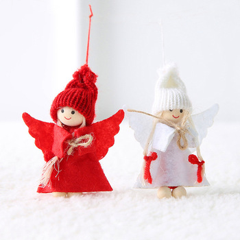 2pc New Year Hanging Dolls Xmas Gifts Christmas Decorations for Home Decor Merry Christmas Tree Ornaments Natal Home Decor Toys недорого