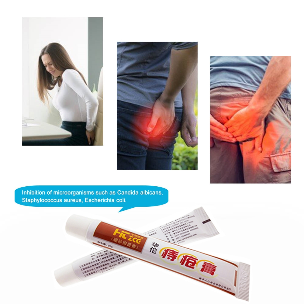 10Pcs Psoriasis Hemorrhoids Treatment Ointment 100% Natural Chinese Medicine Essential Oil For Body Massage Health Care Cream