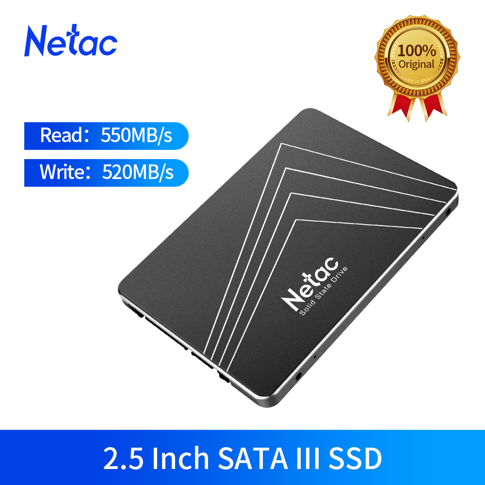Netac N530S SSD 1TB 500GB 250GB 128GB 2 5 inch SATA III Internal Solid State Drive SSD HDD Hard Disk For Laptop desktop Computer