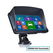 7-дюймовый HD Автомобильный GPS-навигатор katарина, FM 8G 256 МБ или 128 Мб, новейшие резистивные или емкостные gps-навигаторы для грузовых автомобилей ...