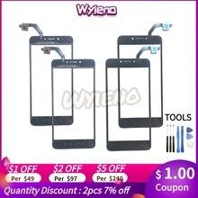 """Wyieno オリジナル 5.2 """"BQ5206L センサー電話の交換部品 bq 5206L バランスタッチスクリーンデジタイザタッチスクリーンパネル"""