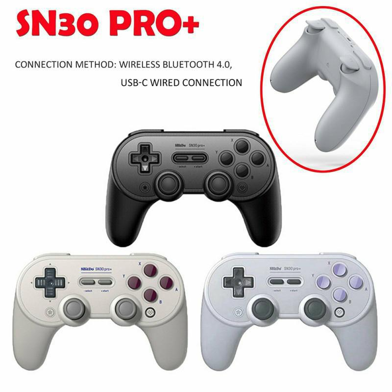 SN30 pro plus Official 8BitDo SN30 PRO+ Bluetooth Gamepad Controller with Joystick for Windows Android macOS Nintendo Switch r30(China)