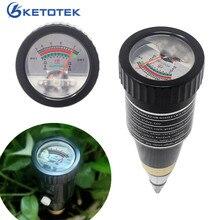 Medidor de ph do solo 2 em 1, com alta sensibilidade, medidor de umidade, para jardim, teste de ph, higrômetro