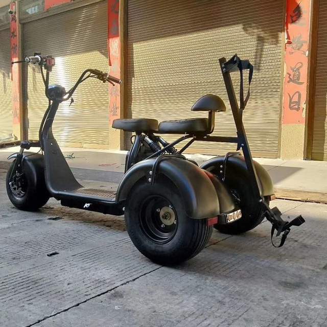 City Escooter 3Wheel Golf Cart EEC COC Approved Electric Cargo Tricycle Citycoco Golf Bag Cart Trike Motorcycle Electric Scooter 5
