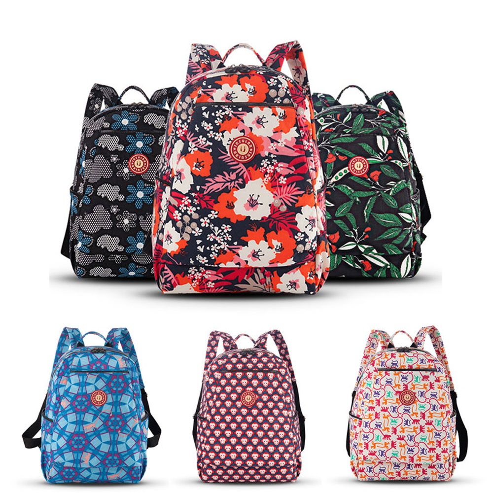 Mummy Maternity Nappy Bag Printed Large Baby Diaper Bag Backpack For Mom Stroller Bags Travel Baby Care Nursing Waterproof