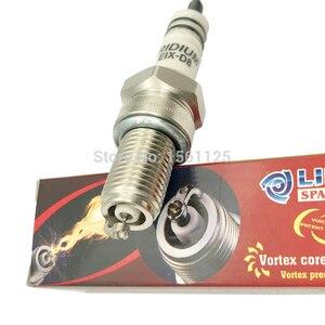 Image 3 - 1PC INT VORTEX IRIDIUM patent motorcycle spark plug EIX D8 FOR D8EA DR8EIX DR8EGP DPR8EIX 9 IX24B X24ESU D8TC D8RIU bujia HG2CU